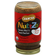 NuttZo Crunchy Peanut Free Nutbutter seven nut and seed butter