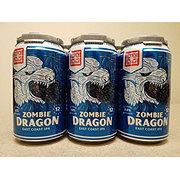 NXNW Zombie Dragon Beer 12 oz  Cans