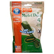 Nylabone Nutri Dent Edible Dental Chews Large Dog Treats