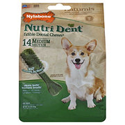 Nylabone Nutri Dent Medium Edible Dental Chews Dog Treats