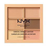 NYX 3C Palette, Conceal, Correct, Contour, Deep