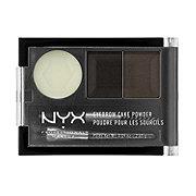 NYX Eyebrow Cake Powder, Black/ Gray