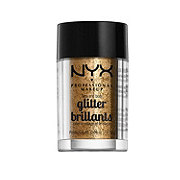 NYX Face & Body Glitter, Bronze