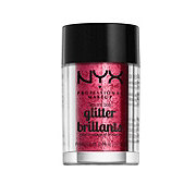NYX Face & Body Glitter, Red