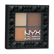 NYX Full Throttle Eye Shadow Palette, Color Riot
