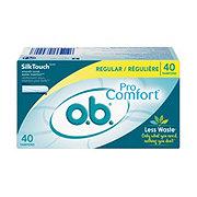 O.B. Pro Comfort Tampons Regular