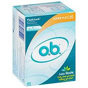 O.B. Super Plus Tampons