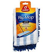 O-Cedar Dual Action Microfiber Flip Mop Refill