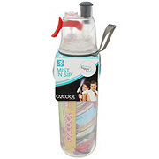O2COOL Mist N Sip Insulated Bottle Artist Collection