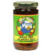 Oasis Foods Ragin' Red Jalapeno Jelly