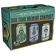 Oasis Texas All Year  Variety Beer 12 oz  Cans