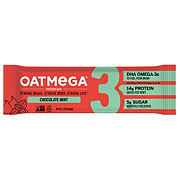 Oatmega Dark Chocolate Mint Crisp Protein Bar