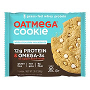Oatmega White Chocolate Macadamia Cookie