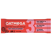 Oatmega White Chocolate Raspberry Protein Bar