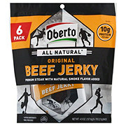 Oberto All Natural Original Beef Jerky Snack Packs