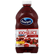Ocean Spray 100% Cranberry Juice No Sugar Added