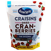 Ocean Spray Craisins Original Dried Cranberries Value Pack