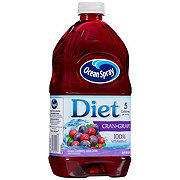 Ocean Spray Diet Cranberry Grape Juice Drink