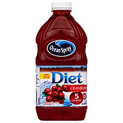 what is diet ocean spray sweetened with