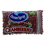 Ocean Spray Fresh Premium Cranberries