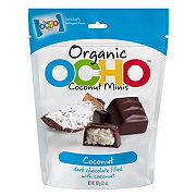 Ocho Organic Mini Pouch Coconut Filled Chocolates