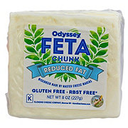 Odyssey Feta Chunck Reduced Fat