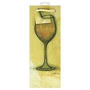 Oenophilia White Wine Glass Wine Gift Bag