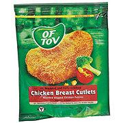 Of Tov Breaded Chicken Cutlets