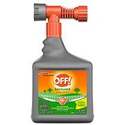 OFF! Backyard Pretreat Bug Control Spray