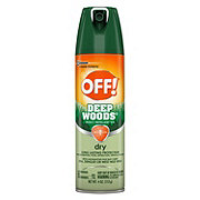 OFF! Deep Woods Insect Repellent VIII, Dry