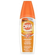 OFF! Family Care Insect Repellent IV, Unscented
