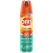 OFF! FamilyCare Insect Repellent I, Smooth & Dry