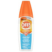 OFF! FamilyCare Insect Repellent II, Clean Feel