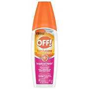 OFF! FamilyCare Insect Repellent III,Tropical Fresh