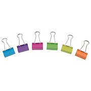 Office Logic Binder Clips, Large - Shop Paper Clips & Fasteners at H-E-B