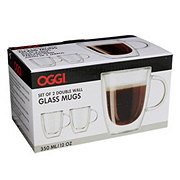 Oggi Glass Mug Set