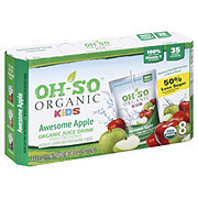Oh-So Organic Awesome Apple Organic Fruit Drinks 6 oz Pouches