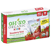 Oh-So Organic Kids Strawberry Twist Organic Juice Drink 6 oz Pouches