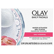 Olay Daily Facial Hydrating Cleansing Cloths with Grapeseed Extract