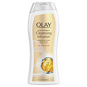 Olay Microscrubbing Cleansing Infusion Hydrating Glow Crushed Ginger Body Wash