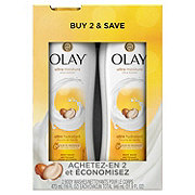 Olay Ultra Moisture Shea Butter Body Wash Twin Pack