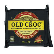 Old Croc Smoked Cheddar Cheese