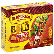 Old El Paso Bold Nacho Cheese Stand 'N Stuff Taco Shells