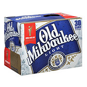 Old Milwaukee Light Beer 30 PK Cans