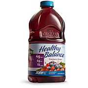 Old Orchard Healthy Balance Cranberry Grape Juice Cocktail Blend