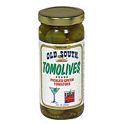 Old South Tomolives Pickled Green Tomatoes