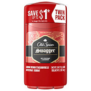 Old Spice Red Collection Swagger Antiperspirant and Deodorant Twin Pack