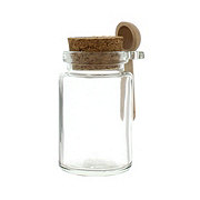 Olde Thompson Jar With Cork and Spoon