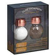 Olde Thompson Orbit Glass Copper Top Set
