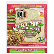 Ole Xtreme Wellness! Spinach & Herbs Tortilla Wraps